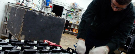 Reduce the cost and risk of forklift battery ownership